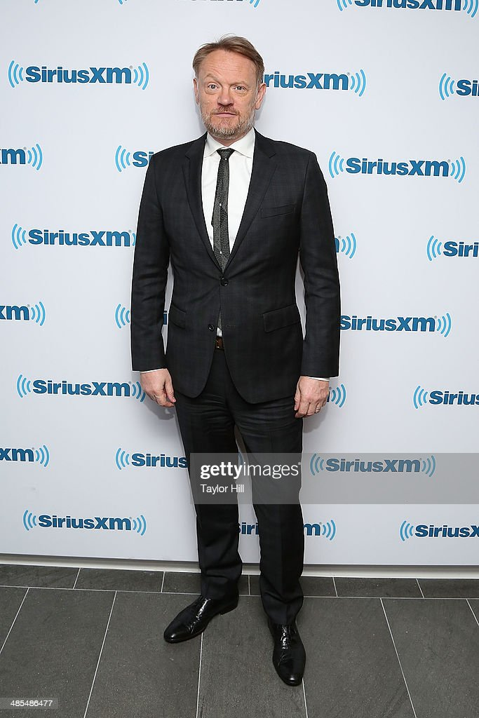 Actor <a gi-track='captionPersonalityLinkClicked' href=/galleries/search?phrase=Jared+Harris&family=editorial&specificpeople=228170 ng-click='$event.stopPropagation()'>Jared Harris</a> visits the SiriusXM Studios on April 18, 2014 in New York City.