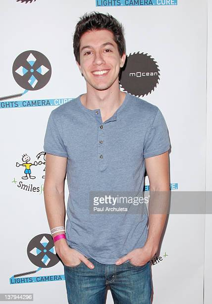 Actor Jared Kusnitz attends the 'Lights Camera Cure 2012 Hollywood DanceAThon' at Avalon on January 29 2012 in Hollywood California