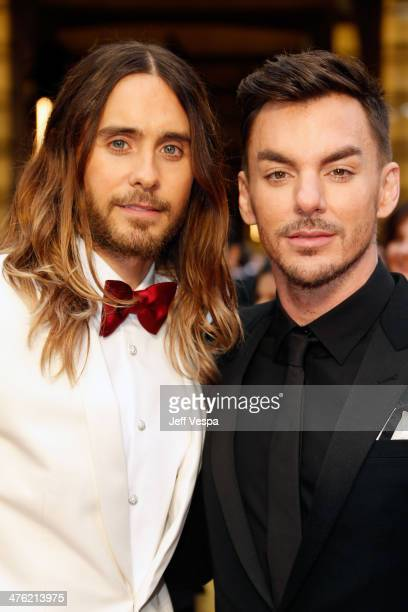 Actor Jared Leto and musician Shannon Leto attend the 86th Oscars held at Hollywood Highland Center on March 2 2014 in Hollywood California