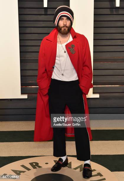Actor Jared Leto arrives at the 2017 Vanity Fair Oscar Party Hosted By Graydon Carter at Wallis Annenberg Center for the Performing Arts on February...