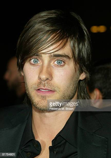 Actor Jared Leto arrives at the premiere of 'Alexander' on November 16 2004 at Grauman's Chinese Theater in Hollywood California
