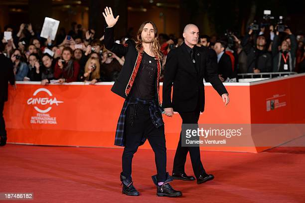 Actor Jared Leto attends 'Dallas Buyers Club' Premiere during The 8th Rome Film Festival on November 9 2013 in Rome Italy