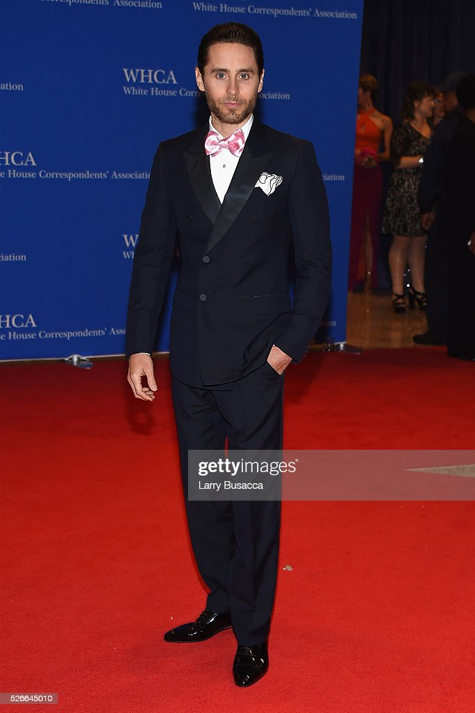 Actor Jared Leto attends the 102nd White House Correspondents' Association Dinner on April 30, 2016 in Washington, DC.