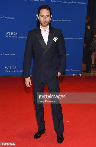 Actor Jared Leto attends the 102nd White House Correspondents' Association Dinner on April 30 2016 in Washington DC