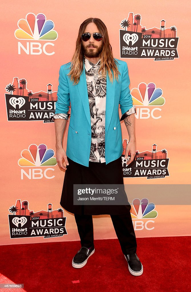 Actor Jared Leto attends the 2014 iHeartRadio Music Awards held at The Shrine Auditorium on May 1, 2014 in Los Angeles, California. iHeartRadio Music Awards are being broadcast live on NBC.