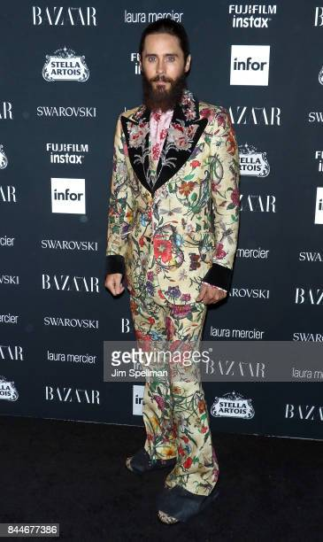 Actor Jared Leto attends the 2017 Harper's Bazaar Icons at The Plaza Hotel on September 8 2017 in New York City