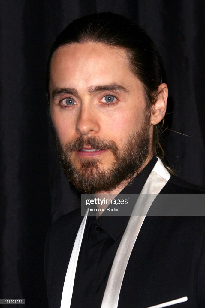 Actor Jared Leto attends the 39th annual Los Angeles Film Critics Association Awards held at the InterContinental Hotel on January 11 2014 in Century...