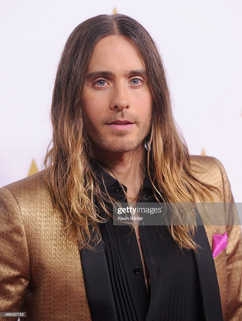 Actor Jared Leto attends the 86th Academy Awards nominee luncheon at The Beverly Hilton Hotel on February 10, 2014 in Beverly Hills, California.