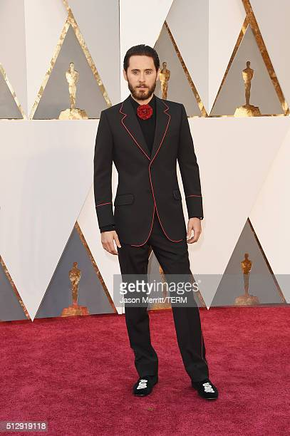 Actor Jared Leto attends the 88th Annual Academy Awards at Hollywood Highland Center on February 28 2016 in Hollywood California