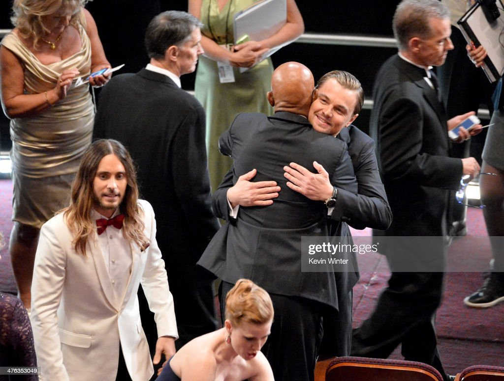 Actor <a gi-track='captionPersonalityLinkClicked' href=/galleries/search?phrase=Jared+Leto&family=editorial&specificpeople=214764 ng-click='$event.stopPropagation()'>Jared Leto</a> attends the Oscars at the Dolby Theatre on March 2, 2014 in Hollywood, California.