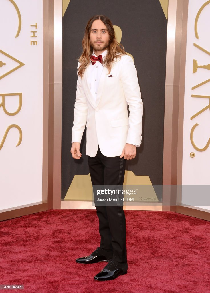 Actor Jared Leto attends the Oscars held at Hollywood & Highland Center on March 2, 2014 in Hollywood, California.