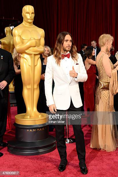 Actor Jared Leto attends the Oscars held at Hollywood Highland Center on March 2 2014 in Hollywood California