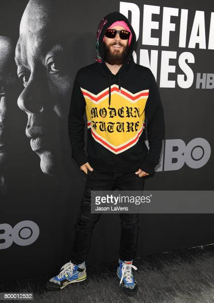 Actor Jared Leto attends the premiere of 'The Defiant Ones' at Paramount Theatre on June 22 2017 in Hollywood California
