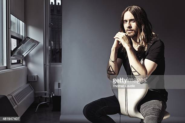 Actor Jared Leto is photographed for Self Assignment on December 3 2013 in New York City