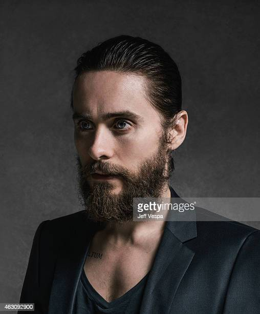 Actor Jared Leto is photographed for The Art of Discovery Hollywood Stars Reveal Their Inspirations Rizzoli