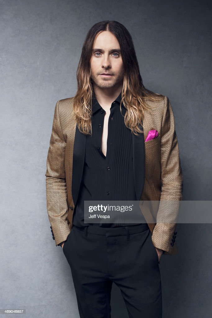 Actor Jared Leto is photographed or Self Assignment on February 10, 2014 in Beverly Hills, California.