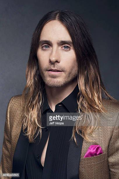 Actor Jared Leto is photographed or Self Assignment on February 10 2014 in Beverly Hills California
