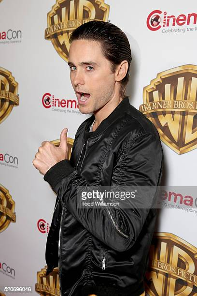 """Actor Jared Leto of 'Suicide Squad' attends CinemaCon 2016 Warner Bros Pictures Invites You to """"The Big Picture"""" an Exclusive Presentation..."""