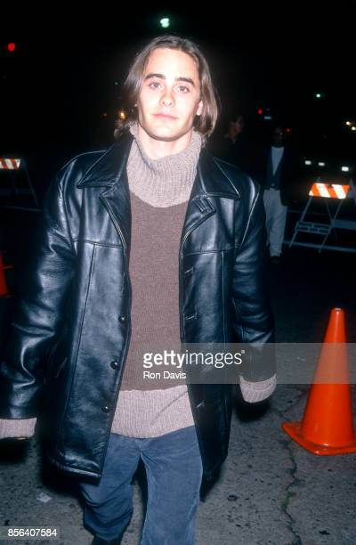 Actor Jared Leto poses for a portrait as he attends the 'Interview with the Vampire The Vampire Chronicles' Westwood Premiere on November 9 1994 at...