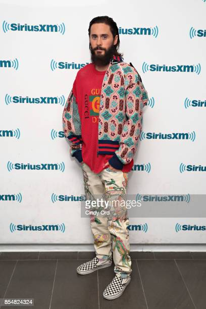 Actor Jared Leto visits the SiriusXM Studios on September 27 2017 in New York City