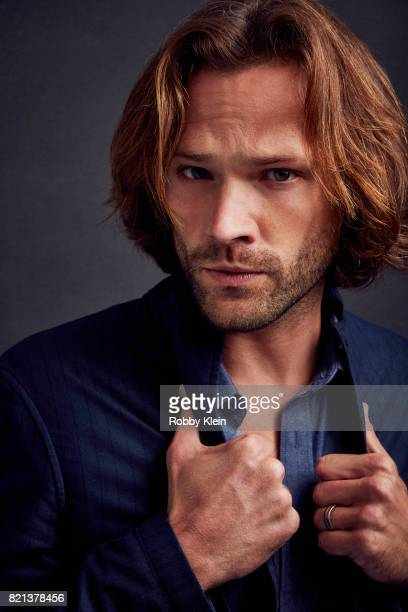 Actor Jared Padalecki from CW's 'Supernatural' poses for a portrait during ComicCon 2017 at Hard Rock Hotel San Diego on July 21 2017 in San Diego...
