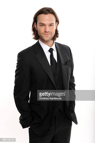 Actor Jared Padalecki poses for a portrait during the 19th Annual Critics' Choice Movie Awards at Barker Hangar on January 16 2014 in Santa Monica...