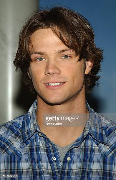 Actor Jared Padelecki arrives for the unveiling of the Paris Hilton wax figure at Madame Tussauds May 2 2005 in New York City