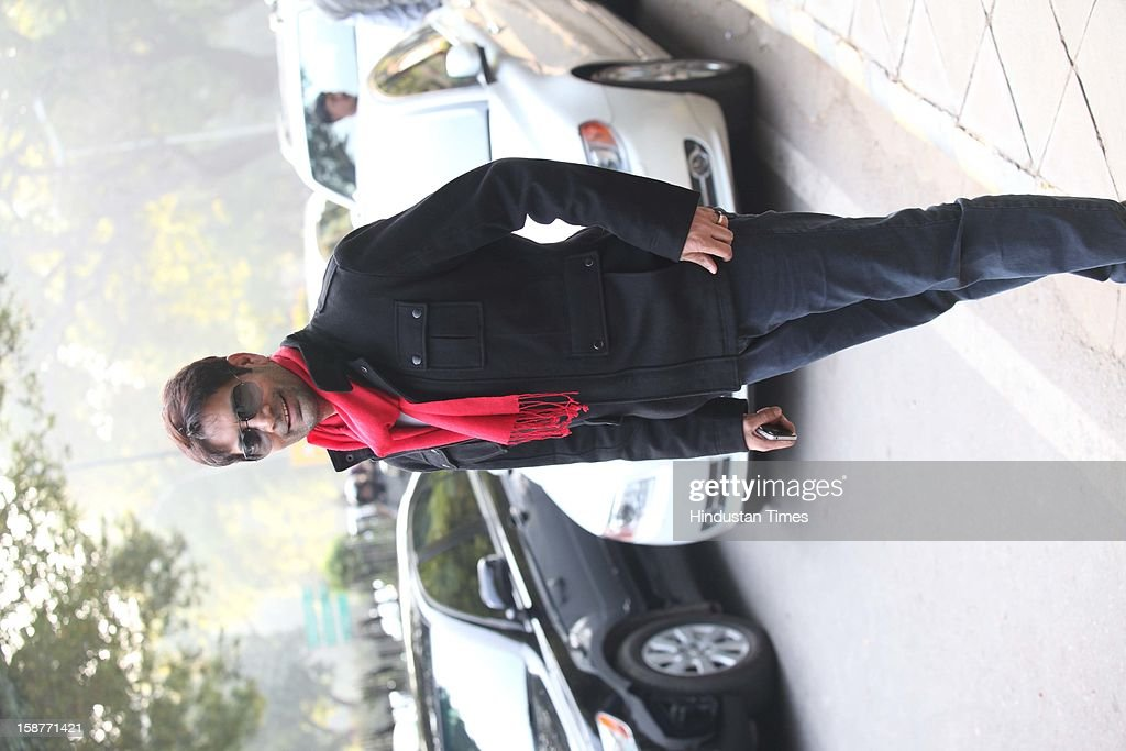 Actor Jas Arora during Christmas party thrown by communication guru Dilip and Devi Cherian at Lodi Garden on December 22, 2012 in New Delhi, India.