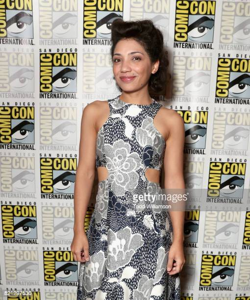 Actor Jasika Nicole from 'Danger Eggs' at Amazon's KIDS PRESS ROOM Panel during ComicCon International 2017 on July 23 2017 in San Diego California