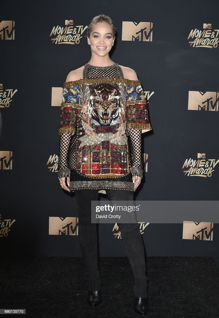 Actor Jasmine Sanders attends the 2017 MTV Movie And TV Awards at The Shrine Auditorium on May 7, 2017 in Los Angeles, California.