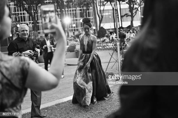Actor Jasmine Savoy Brown attends TNT's Season One 'Will' Premiere at Bryant Park on June 27 2017 in New York City 26058_015