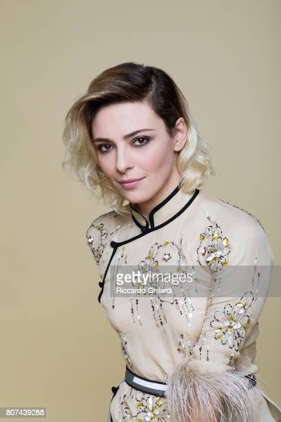 Actor Jasmine Trinca is photographed on January 24 2017 in Rome Italy