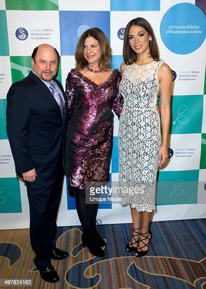 Actor Jason Alexander and actress Moran Atias attend the 45th Anniversary Gala Honoring Our Heroes hosted by the Friends Of Sheba Medical Center Tel...