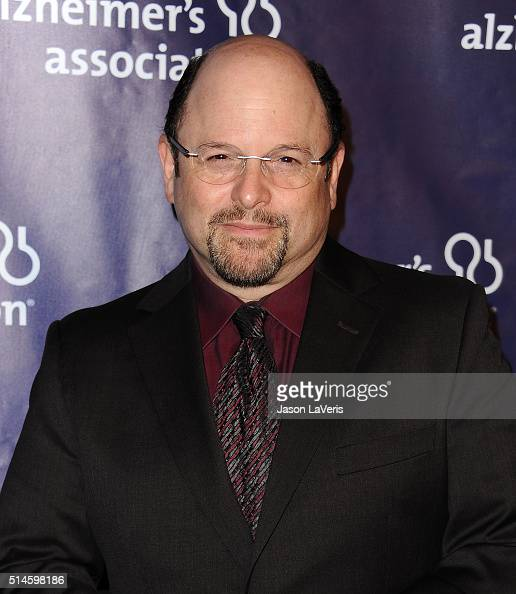 Actor Jason Alexander attends the 2016 Alzheimer's Association's 'A Night At Sardi's' at The Beverly Hilton Hotel on March 9 2016 in Beverly Hills...