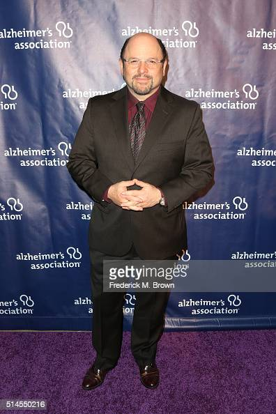 Actor Jason Alexander attends the 24th and final 'A Night at Sardi's' to benefit the Alzheimer's Association at The Beverly Hilton Hotel on March 9...