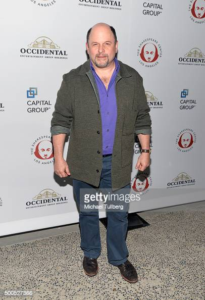 Actor Jason Alexander attends the 25th Annual Simply Shakespeare Benefit for the Shakespeare Center of Los Angeles at The Broad Stage on December 8...