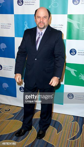 Actor Jason Alexander attends the 45th Anniversary Gala Honoring Our Heroes hosted by the Friends Of Sheba Medical Center Tel Hashomer at the Beverly...