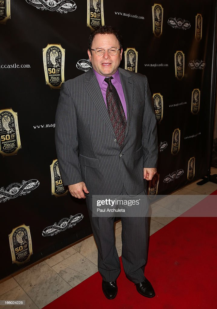 Actor Jason Alexander attends the 45th annual AMA awards show at the Orpheum Theatre on April 7, 2013 in Los Angeles, California.