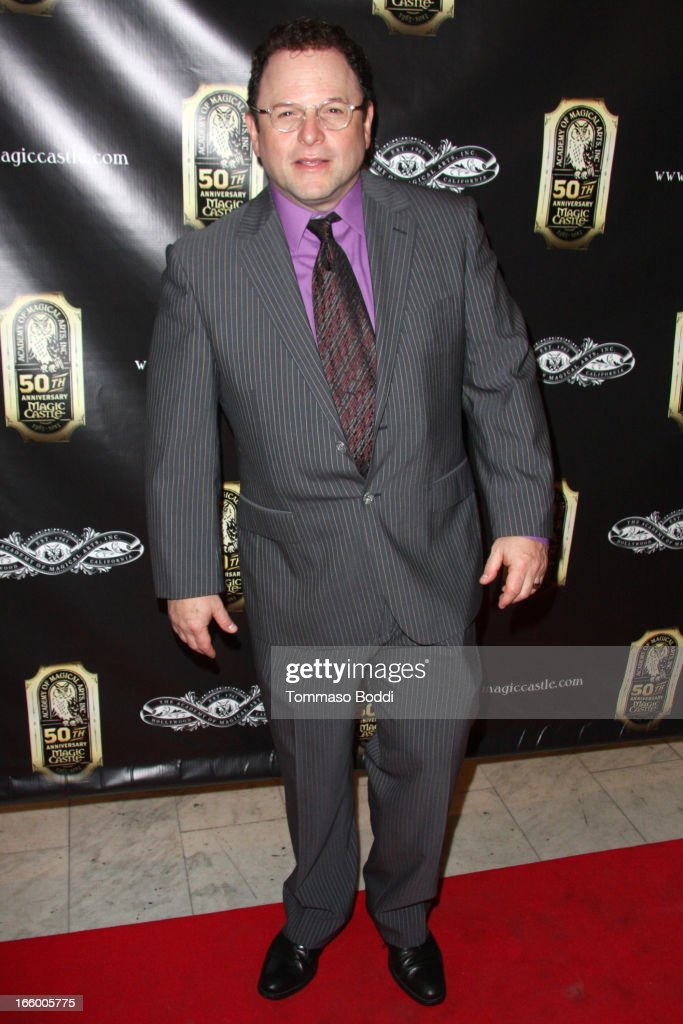 Actor Jason Alexander attends the Academy Of Magical Arts 45th Annual AMA Awards Show held at the Orpheum Theatre on April 7, 2013 in Los Angeles, California.
