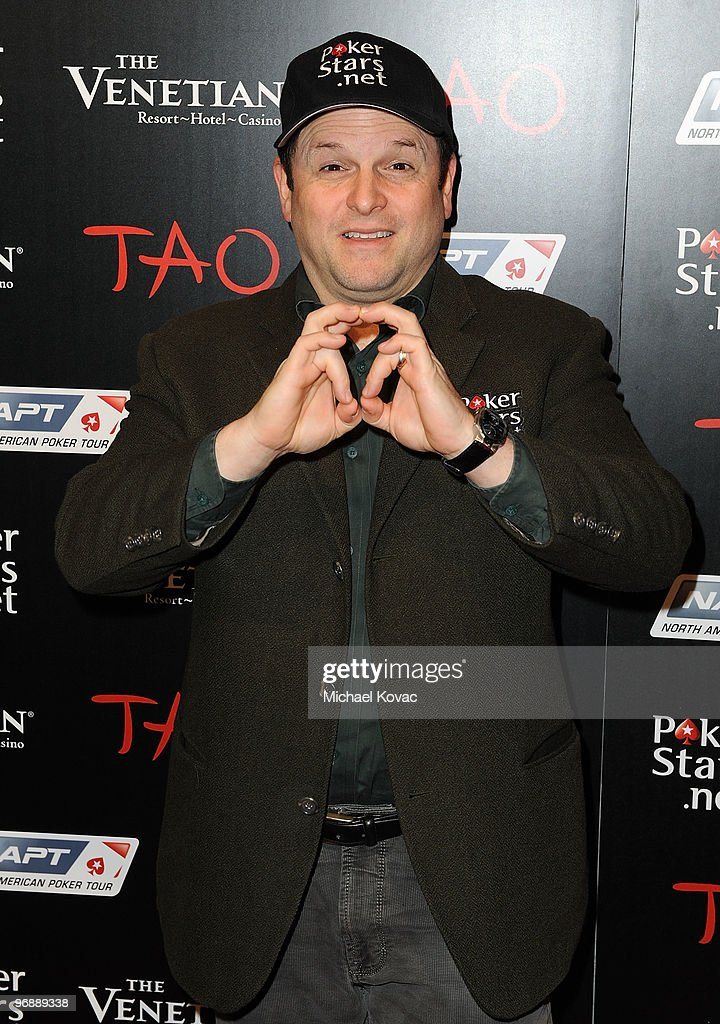 Actor Jason Alexander attends the Pokerstars.net after party with performance by T-Pain at TAO Nightclub at the Venetian on February 19, 2010 in Las Vegas, Nevada.