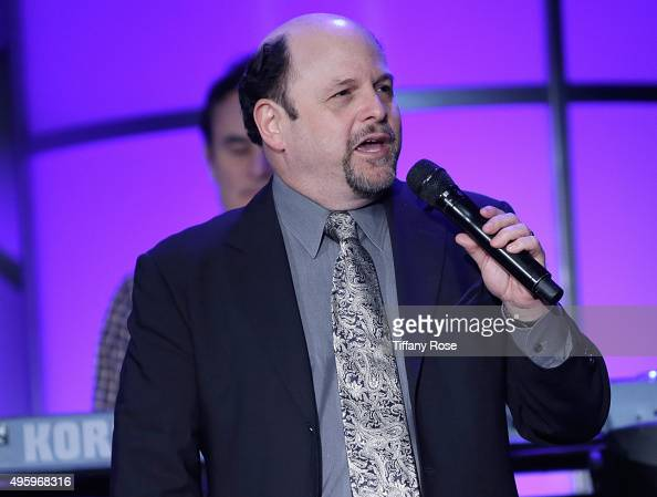 Actor Jason Alexander performs onstage during Friends Of The Israel Defense Forces Western Region Gala at The Beverly Hilton Hotel on November 5 2015...