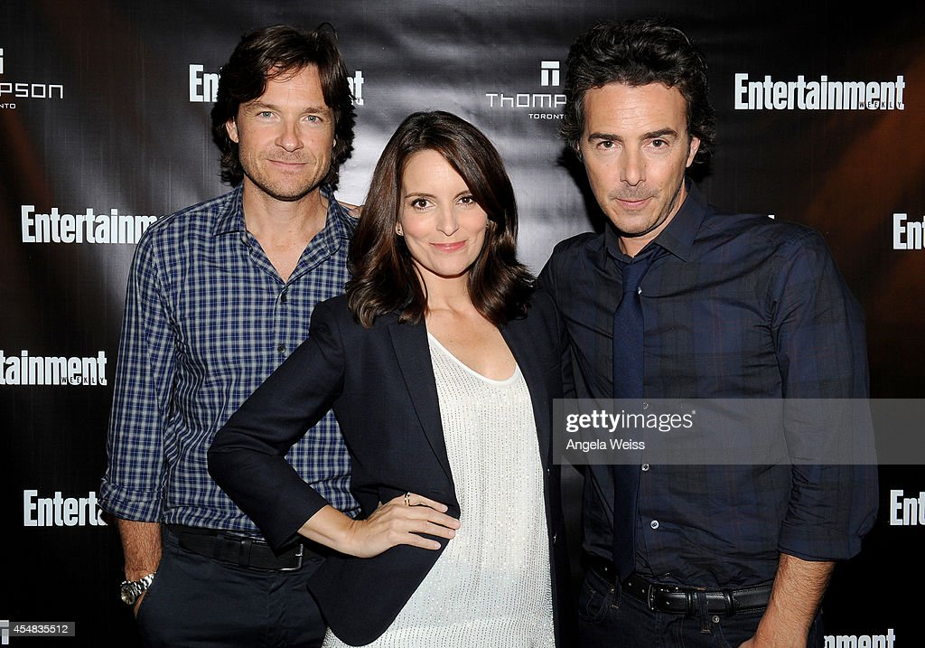 Actor Jason Bateman actress Tina Fey and director Shawn Levy attend Entertainment Weekly's Toronto Must List Party during the 2014 Toronto...