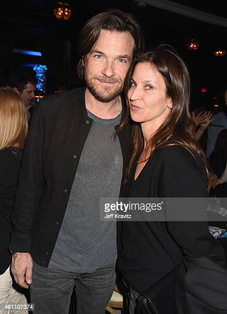 Actor Jason Bateman and actress Amanda Anka attend HBO's 'Togetherness' Los Angeles Premiere And After Party at Avalon on January 6 2015 in Hollywood...