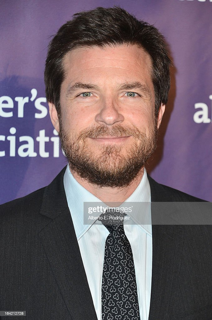 Actor <a gi-track='captionPersonalityLinkClicked' href=/galleries/search?phrase=Jason+Bateman&family=editorial&specificpeople=204774 ng-click='$event.stopPropagation()'>Jason Bateman</a> arrives at 21st Annual 'A Night At Sardi's' gala benefiting the Alzheimer's Association - Arrivals at The Beverly Hilton Hotel on March 20, 2013 in Beverly Hills, California.