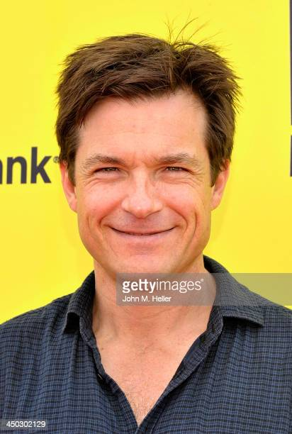 Actor Jason Bateman attends the 2013 PS Arts Express Yourself at Barker Hangar on November 17 2013 in Santa Monica California