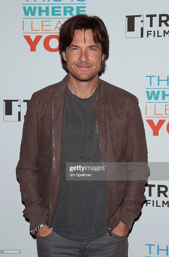 Actor <a gi-track='captionPersonalityLinkClicked' href=/galleries/search?phrase=Jason+Bateman&family=editorial&specificpeople=204774 ng-click='$event.stopPropagation()'>Jason Bateman</a> attends the Tribeca Film Institute Annual Gala Benefit & Advance Screening Of 'This Is Where I Leave You' at AMC Loews Lincoln Square on September 8, 2014 in New York City.