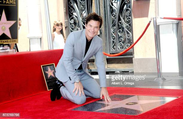Actor Jason Bateman Honored With Star On The Hollywood Walk Of Fame held on July 26 2017 in Hollywood California