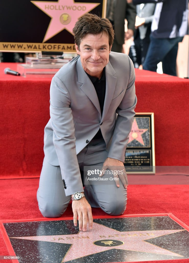 Actor Jason Bateman honored with Star on the Hollywood Walk of Fame on July 26, 2017 in Hollywood, California.