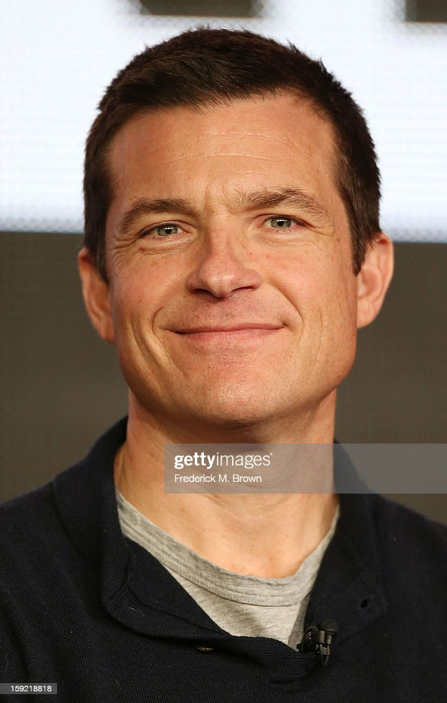 Actor <a gi-track='captionPersonalityLinkClicked' href=/galleries/search?phrase=Jason+Bateman&family=editorial&specificpeople=204774 ng-click='$event.stopPropagation()'>Jason Bateman</a> of the television show 'Arrested Development' speaks during The Netflix Network portion of the 2013 Winter Television Critics Association Press Tour at the Langham Hotel and Spa on January 9, 2013 in Pasadena, California.