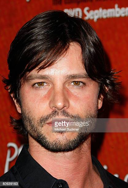 Actor Jason Behr arrives at the release party for the 'Private Practice The Complete First Season' DVD on September 2 2008 in Hollywood California